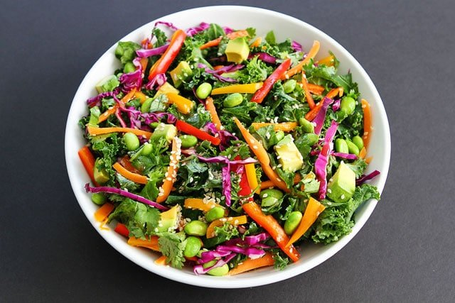 Asian Kale Salad Recipe