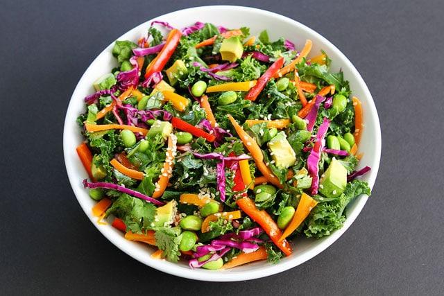 Asian Kale Salad Recipe