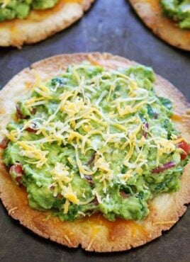 Avocado Tostada ready to serve