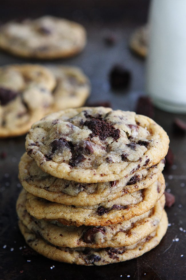 Chocolate Chip Brownie Cookies | Two Peas & Their Pod