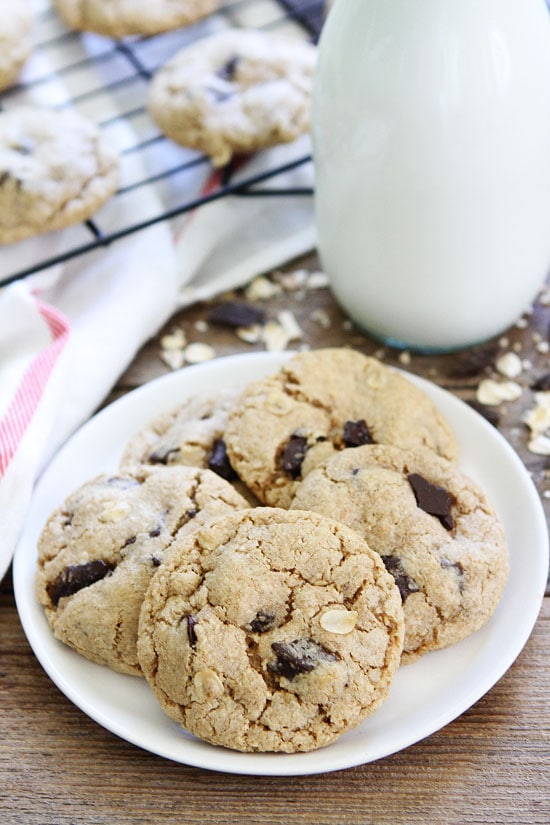 Chocolate Chunk Oat Cookie Recipe