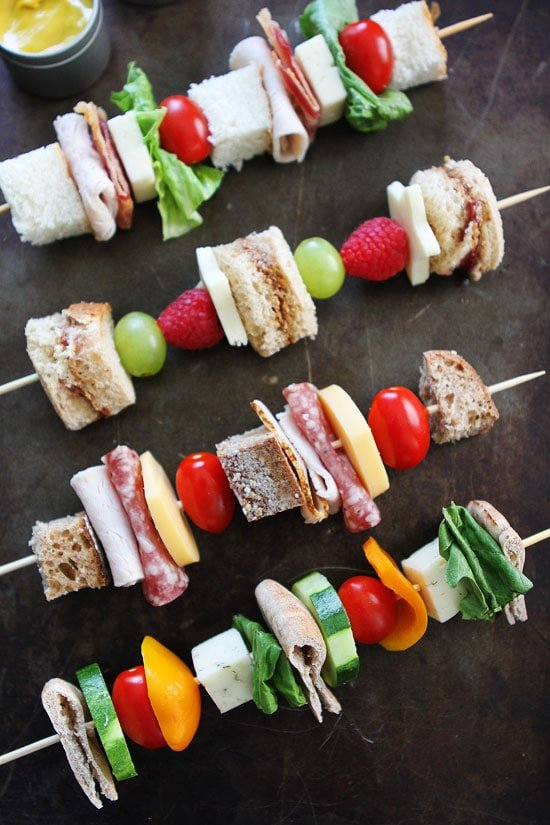 Sandwich on a Stick Recipes