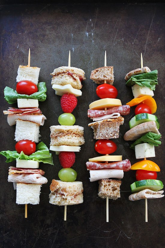 sandwich on a stick two peas their pod. Black Bedroom Furniture Sets. Home Design Ideas