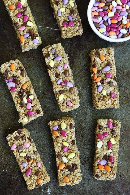 No-Bake Sunflower Butter Granola Bars Recipe