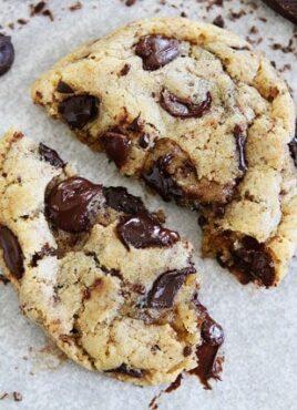 chocolate chip cookie recipe with sea salt
