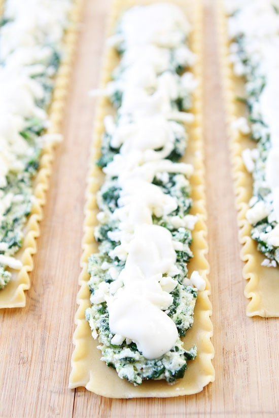 Pesto Lasagna Roll Ups Recipe