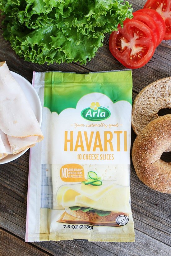 Turkey Havarti Bagel Sandwich Recipe