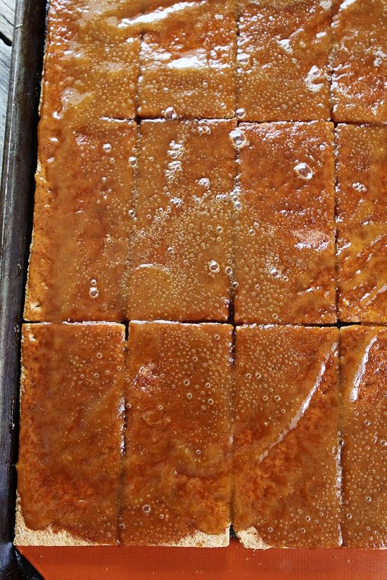 Easy Graham Cracker Toffee Recipe