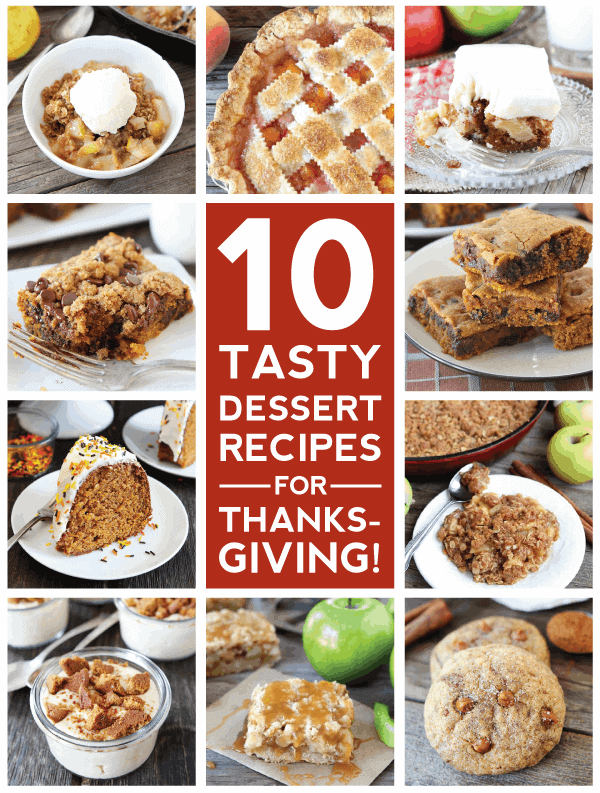 10 Thanksgiving Dessert Recipes