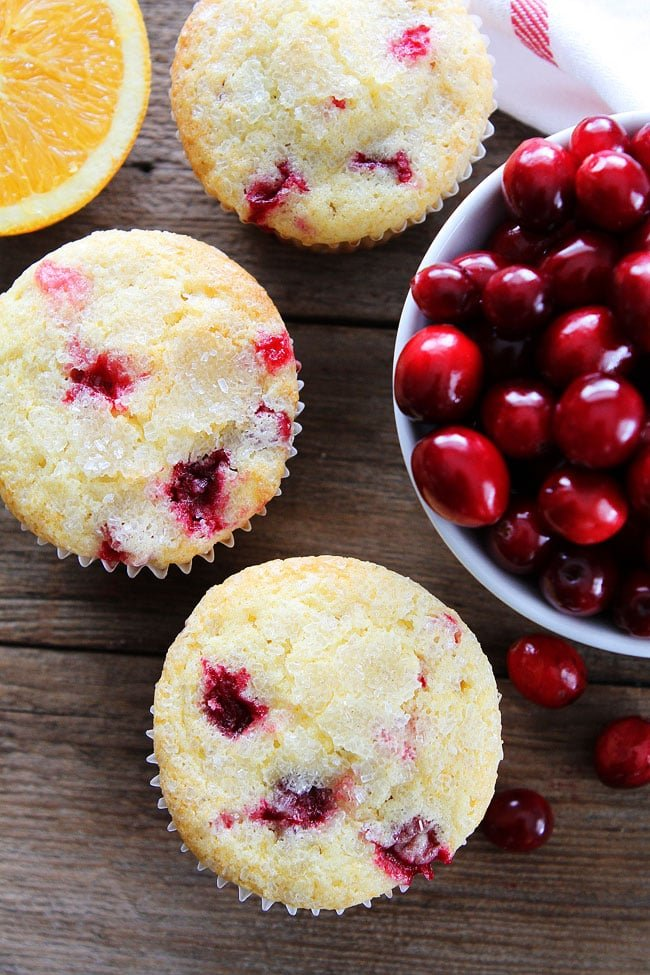 Cranberry Orange Muffins Recipe