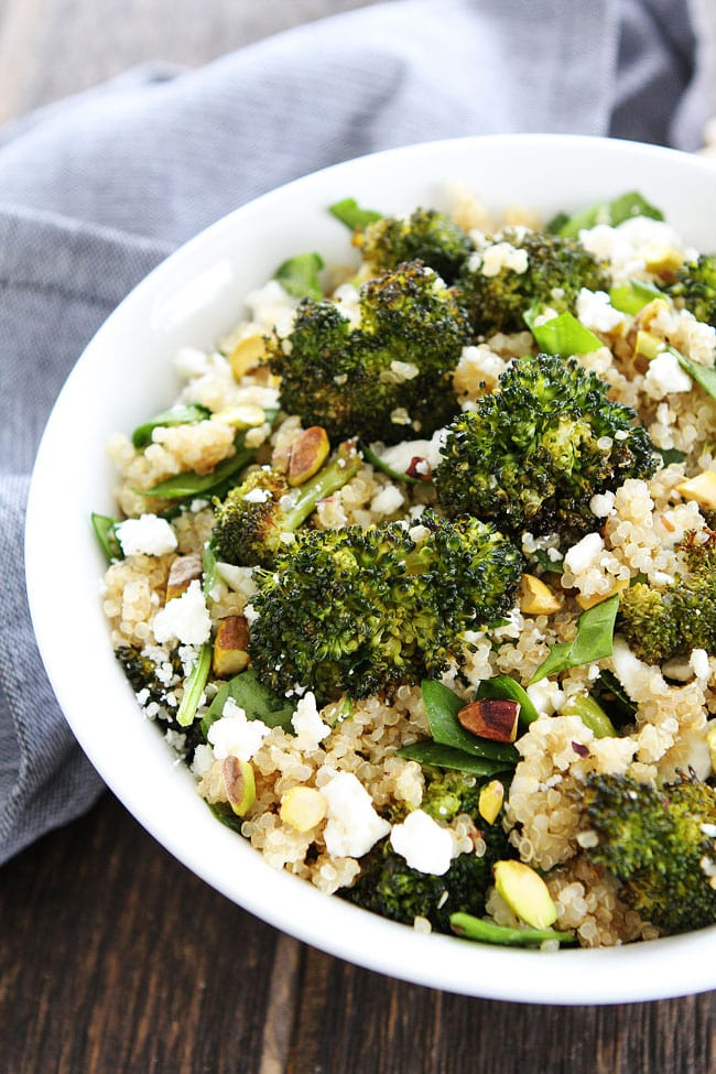 recipe: vegan quinoa broccoli [22]