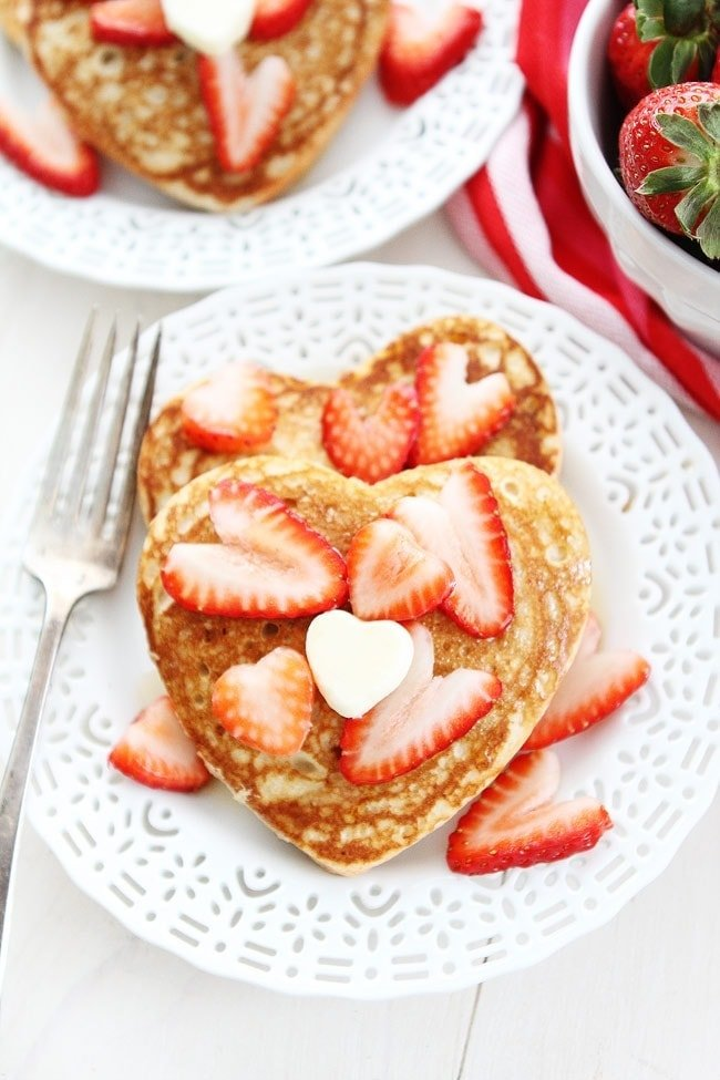 Heart Pancakes Recipe