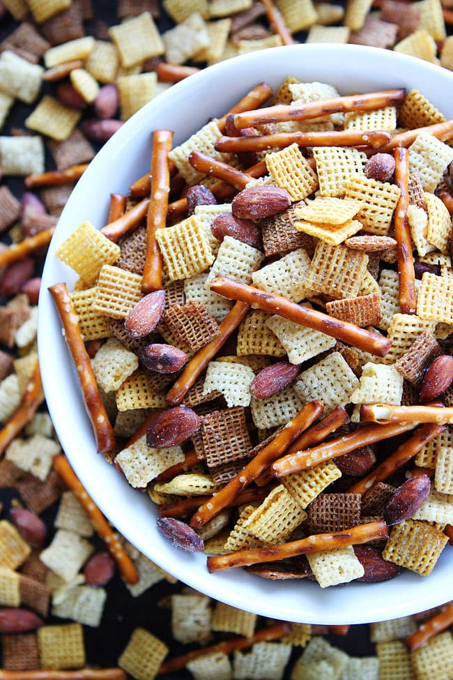 Salt 'n Vinegar Snack Mix Recipe