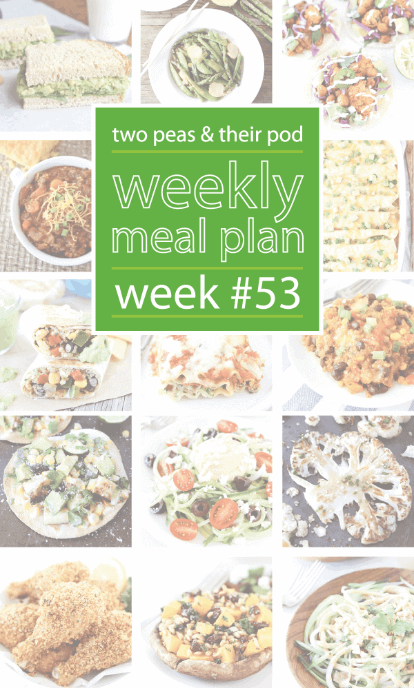 Weekly Meal Plan,