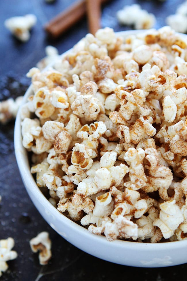 Brown Butter Cinnamon Sugar Popcorn Recipe