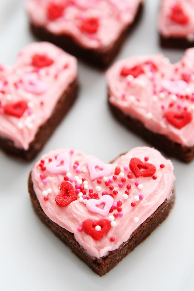 Chocolate Sugar Cookie Hearts Recipe