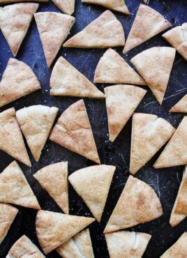 Pita Chips made at home in oven