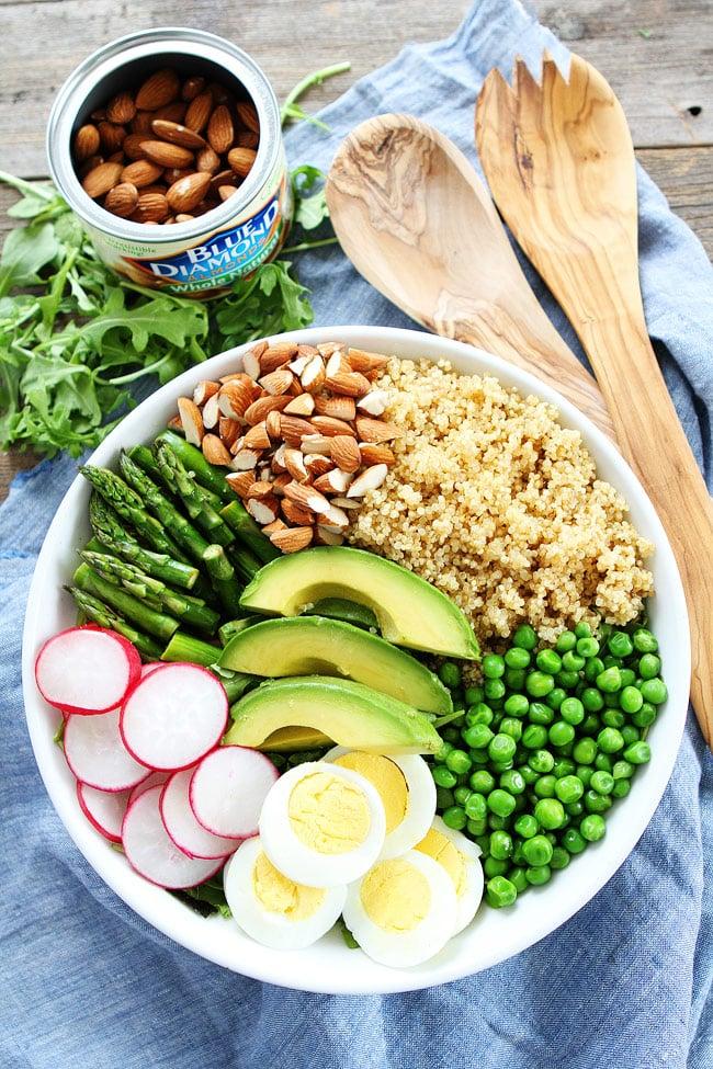 Spring Quinoa Bowl Recipe