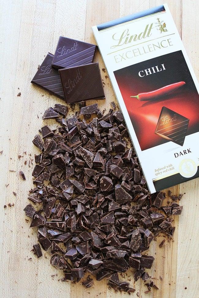Dark Chocolate Chili Cookie Recipe