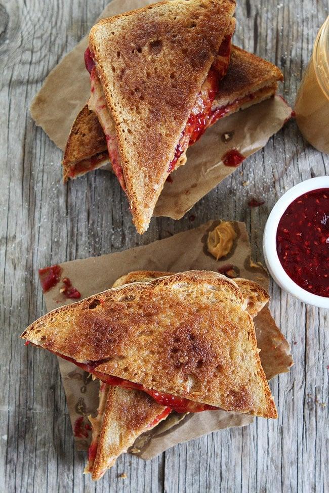 Cinnamon Sugar Toast PB&J Recipe