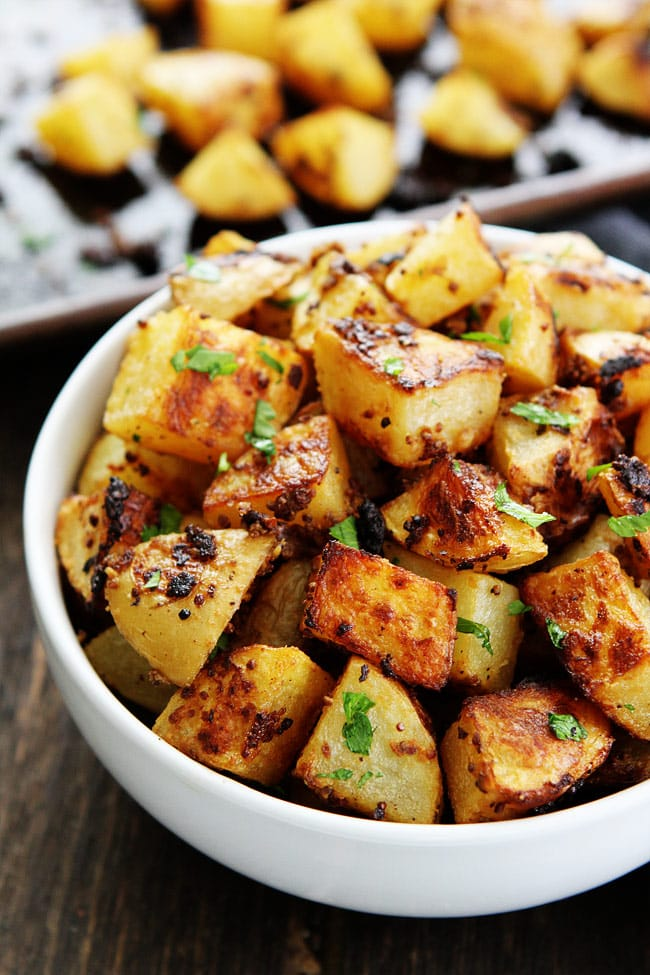Mustard Crusted Potatoes Recipe