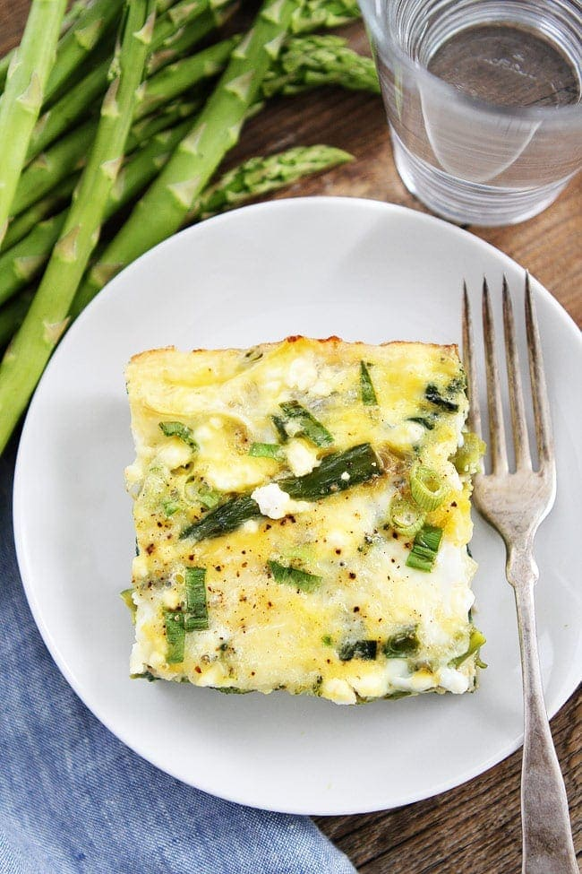 Spring Vegetable Egg Casserole Recipe