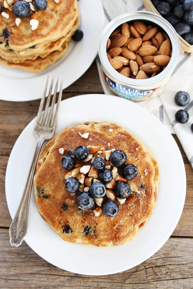 Blueberry-Almond-Pancakes-5