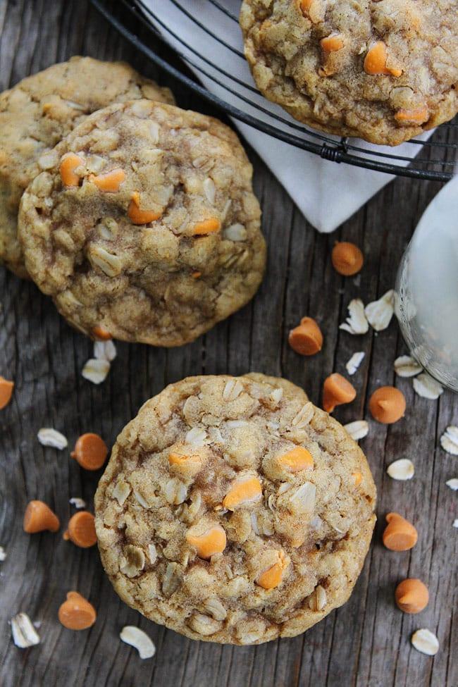 Brown Butter Butterscotch Oatmeal Cookies Recipe