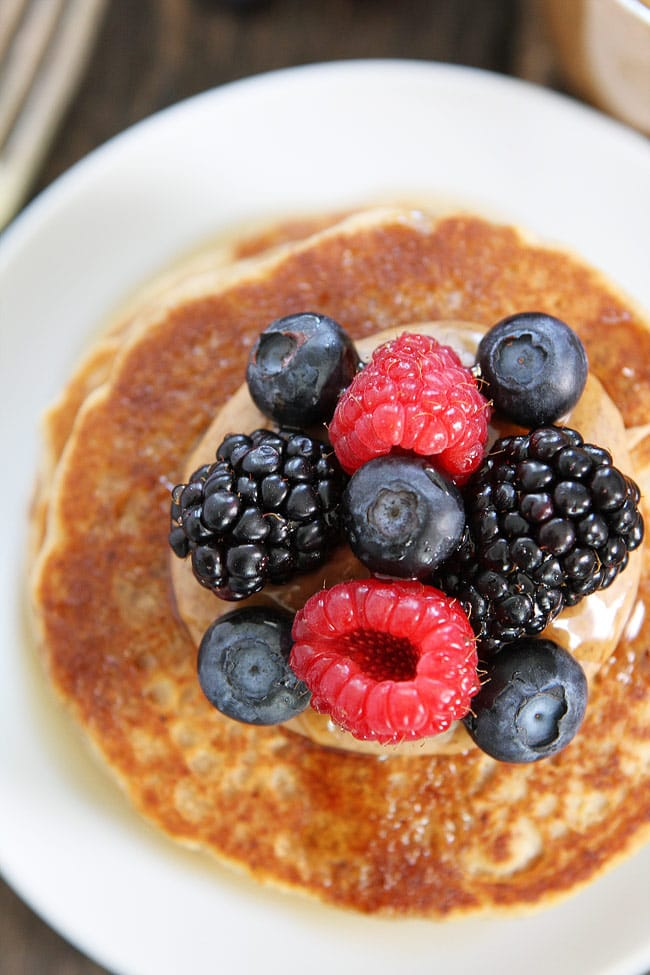 Almond Butter Pancakes Recipe