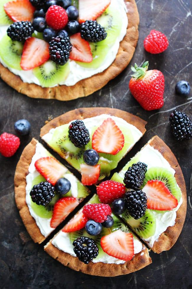 Breakfast Fruit Pizza Recipe