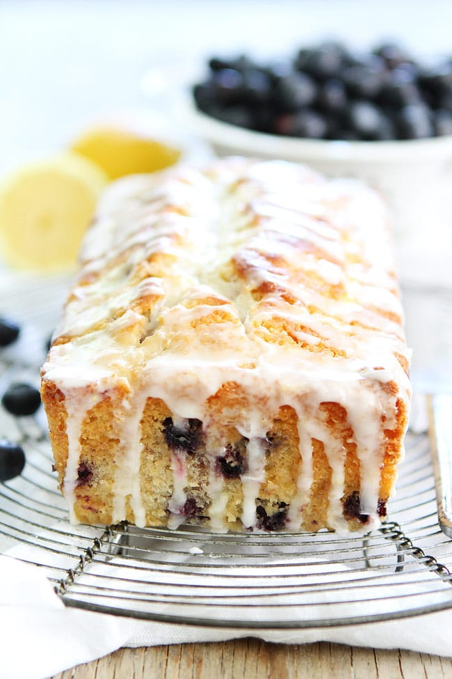 Light Lemon Blueberry Cake
