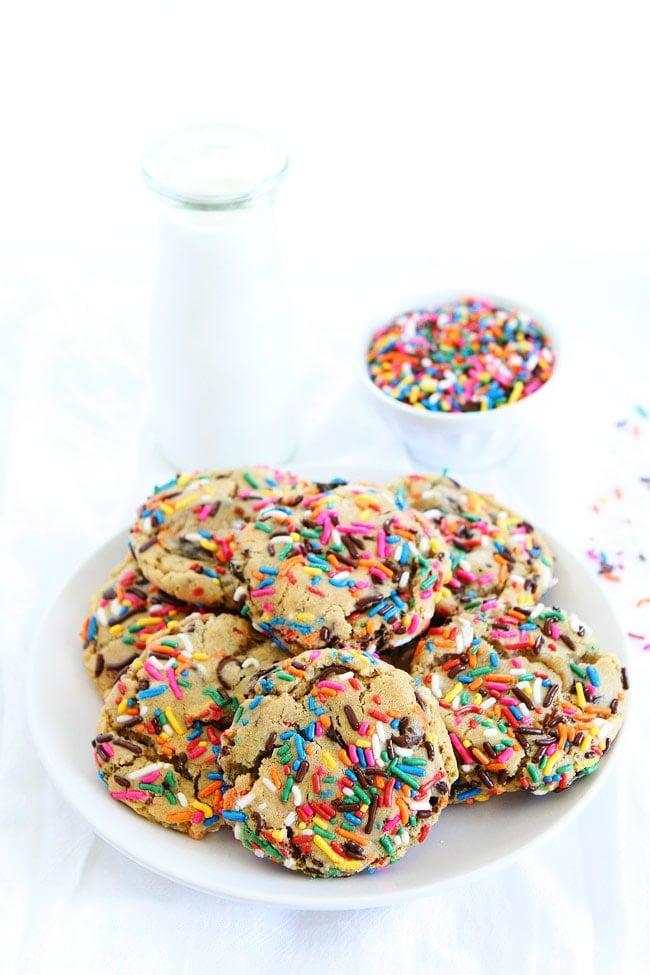 Sprinkle Chocolate Chip Cookies Recipe