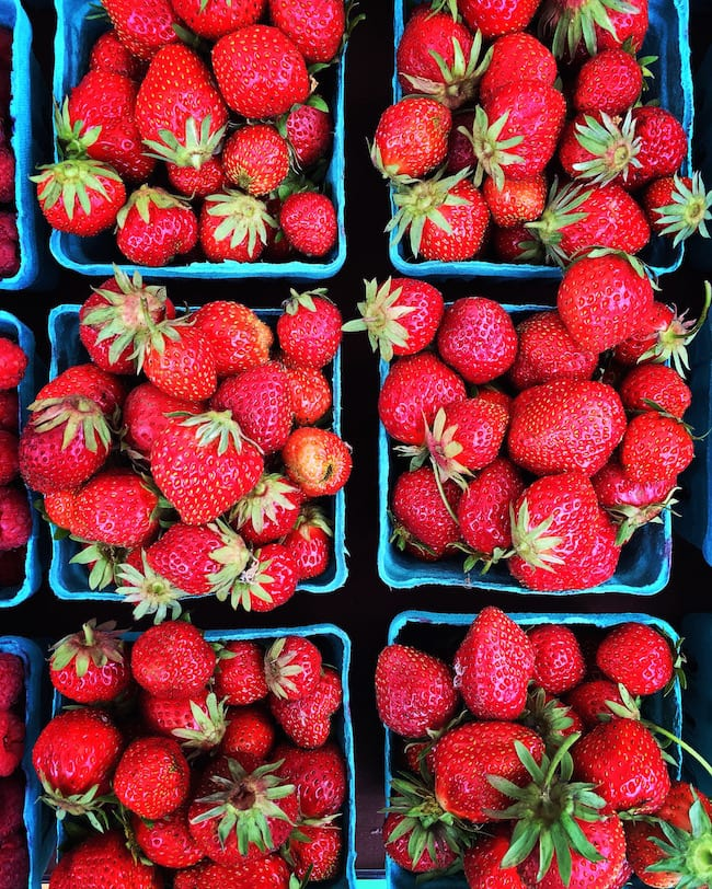 Oregon strawberries