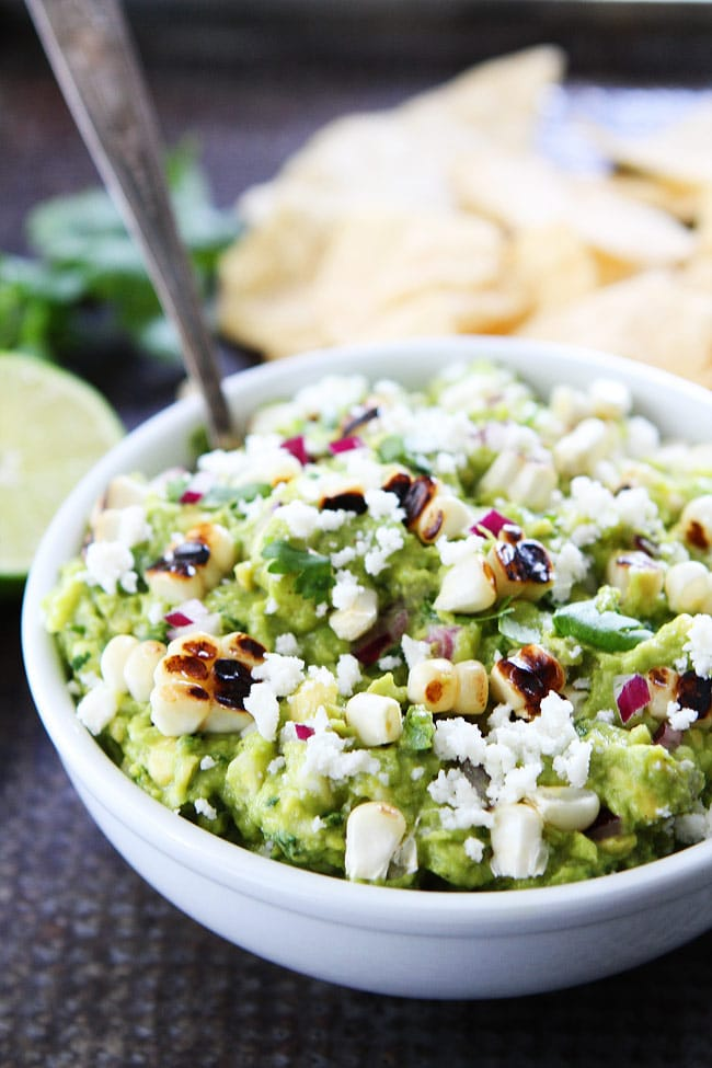 Grilled Corn Guacamole Recipe