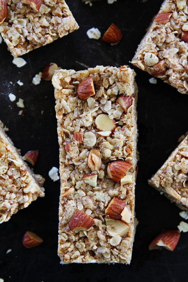 No-Bake-Almond-Butter-Granola-Bars-2