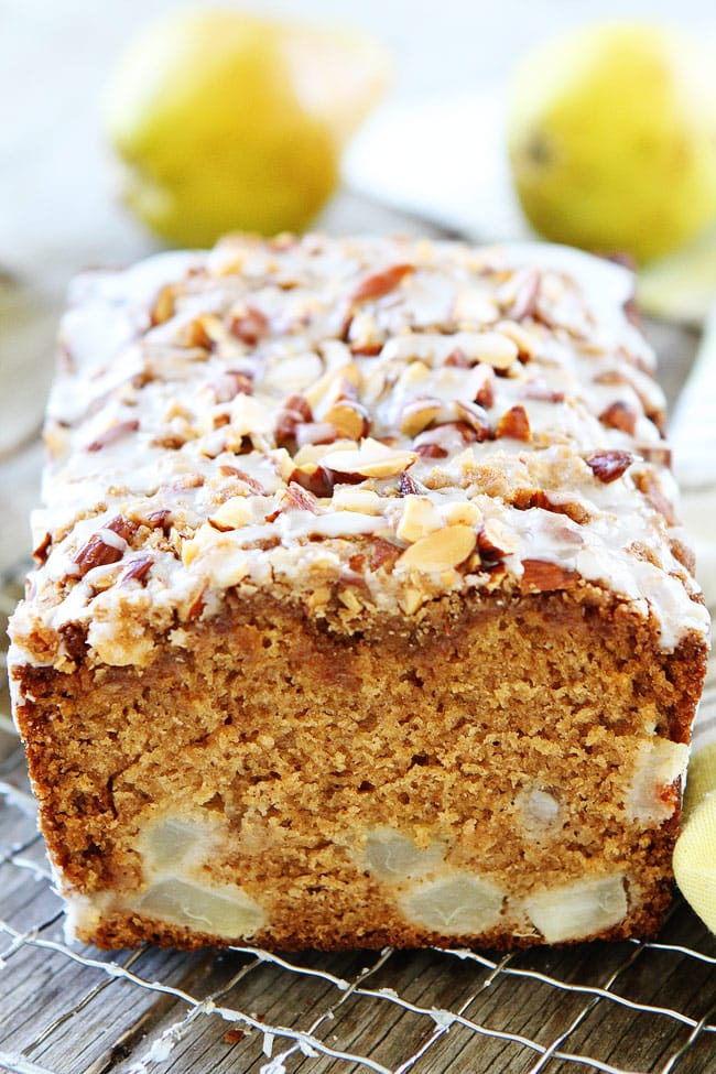 Pear Almond Streusel Bread Recipe