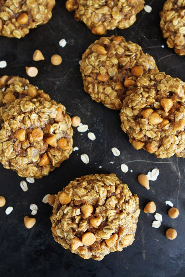 Brown Butter Pumpkin Oatmeal Scotchies Recipe