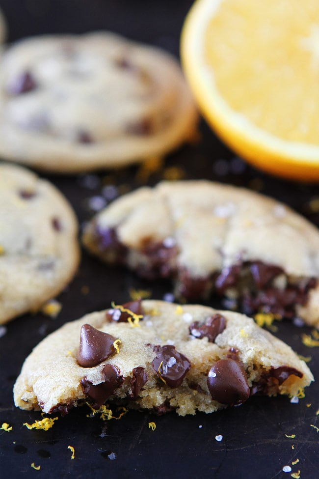 Orange Chocolate Chip Cookies Recipe