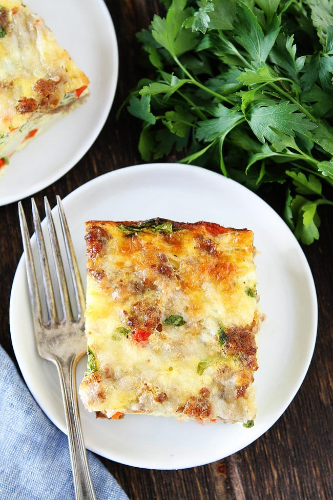 Sausage, Cheese, and Potato Egg Casserole Recipe
