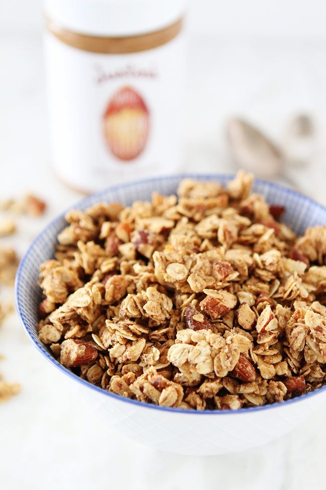Almond Butter Granola Recipe