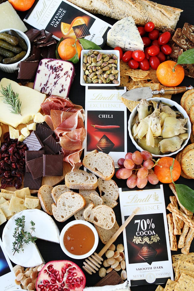 Cheese and Chocolate Board Recipe