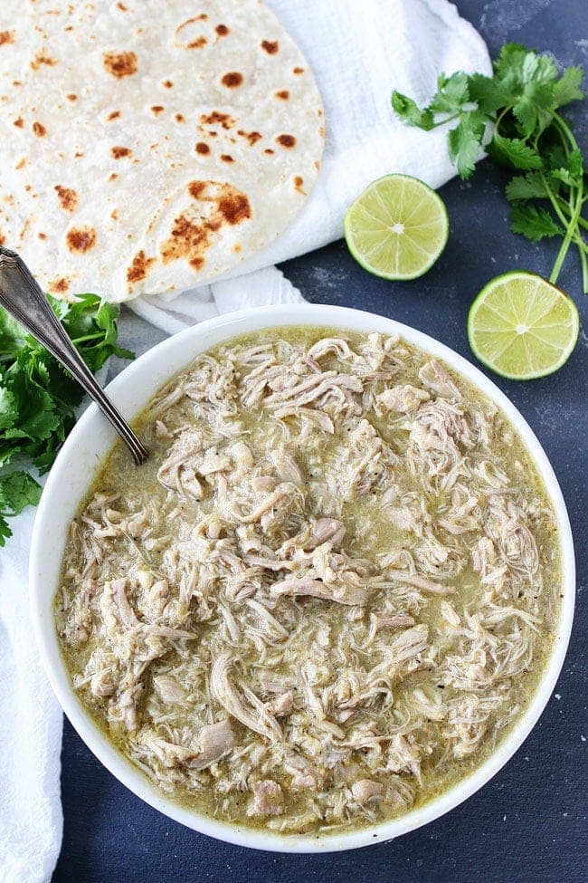how to make chile verde in an instant pot