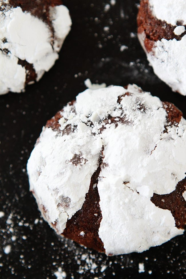 Snowy-Topped Brownie Drops Recipe