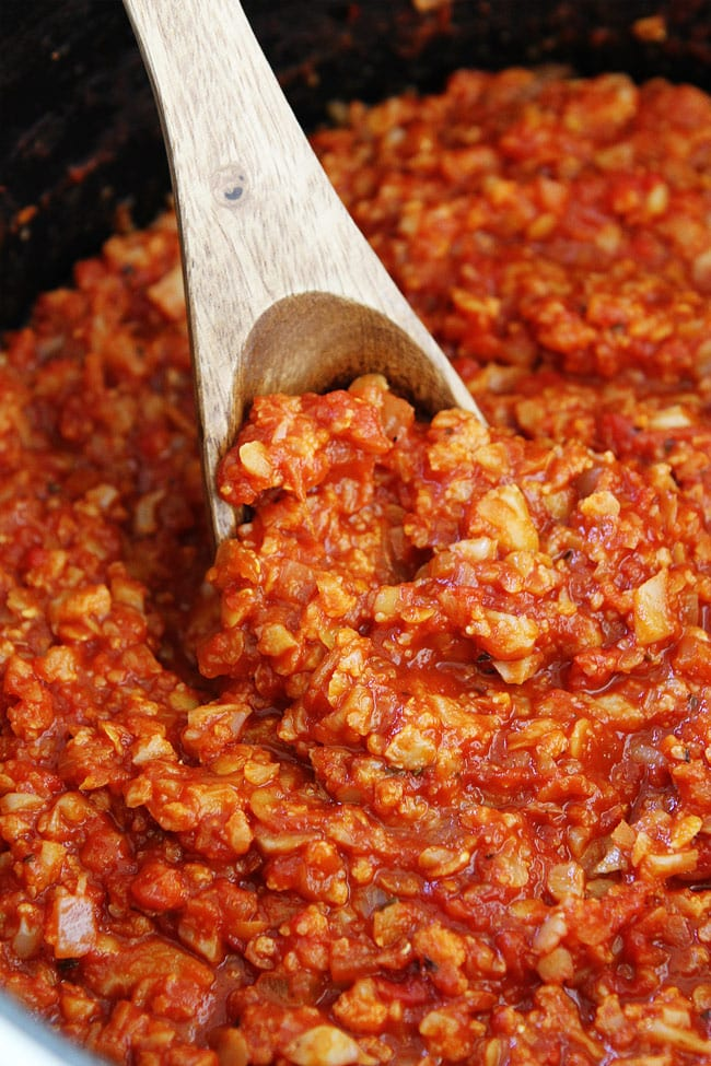 Cauliflower Bolognese Sauce Recipe
