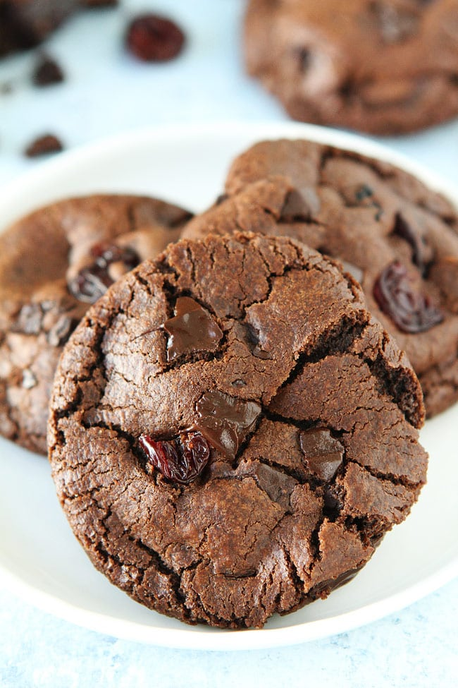 Chocolate Cherry Cookies Recipe