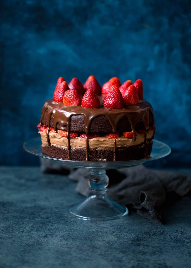 Strawberry Chocolate Cake Recipe
