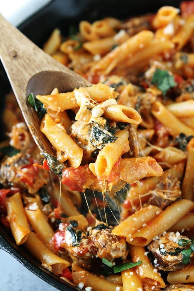 One Pot Sausage Pasta Recipe