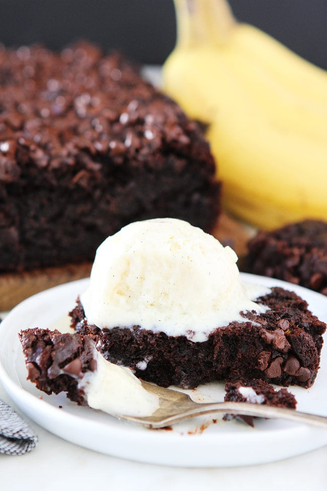 Cake Like Chocolate Gluten-Free Banana Bread
