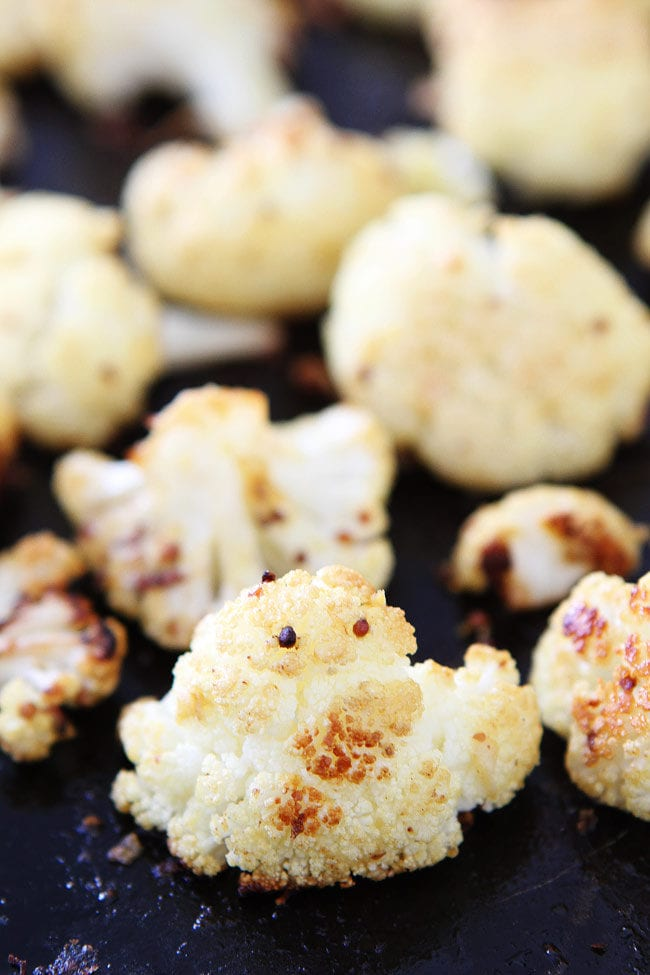 Roasted Mustard Cauliflower Recipe