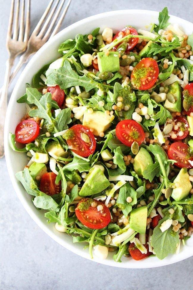 Summer Arugula Salad Recipe | Two Peas & Their Pod